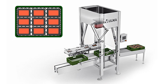 Crate packing with ULMA D12H robot